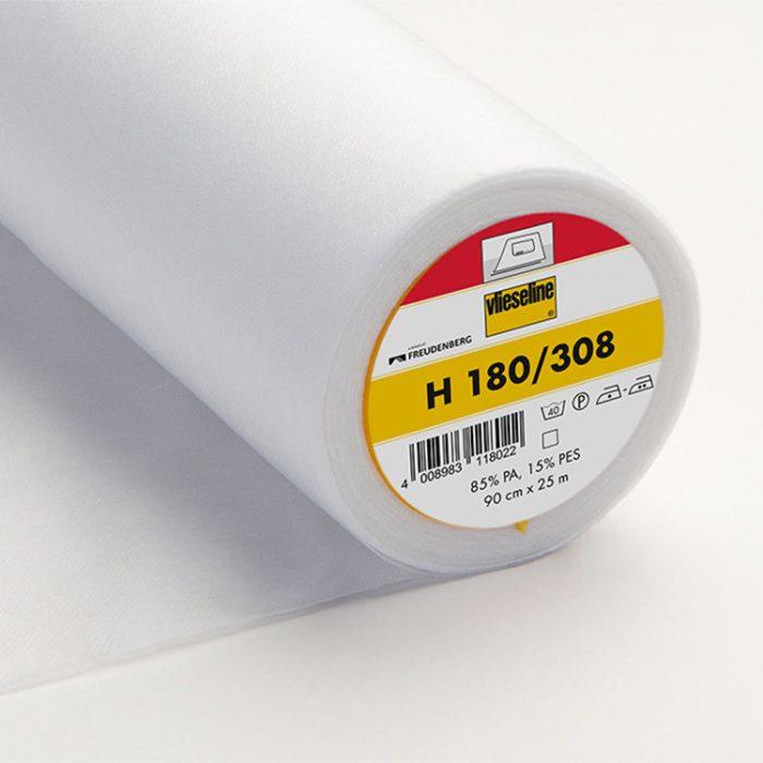 Bügeleinlage H180 – weiß