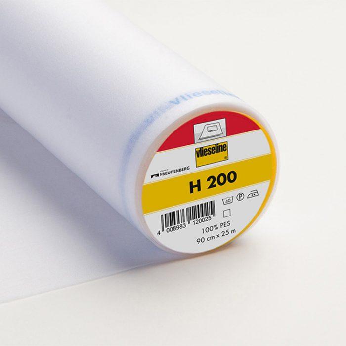 Bügeleinlage H200 – weiß