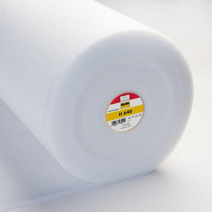 Bügeleinlage H640 – weiß