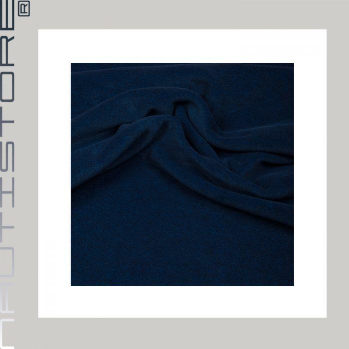 fleece melange dunkelblau 6435-90