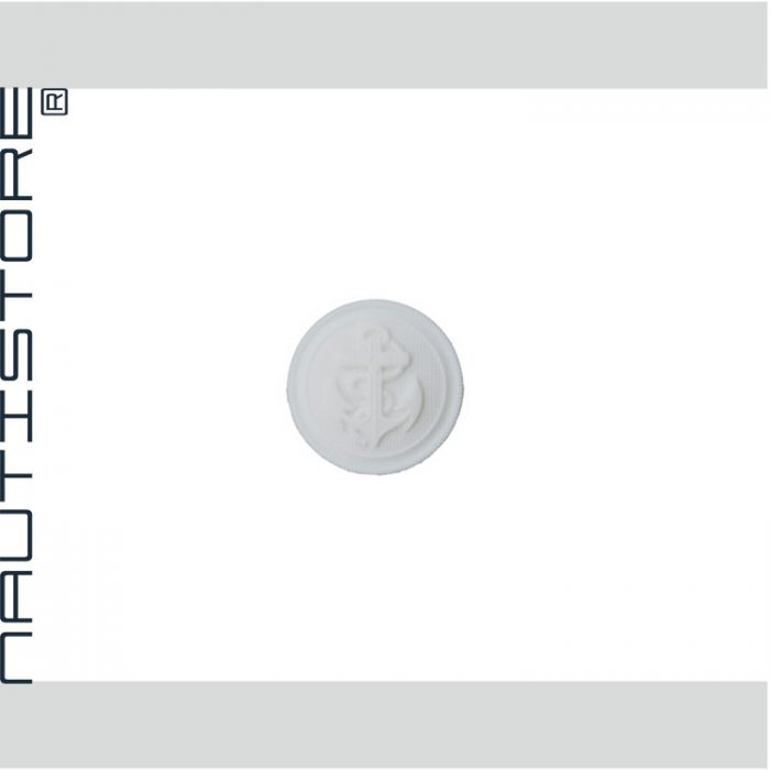 Knopf-Anker-weiß