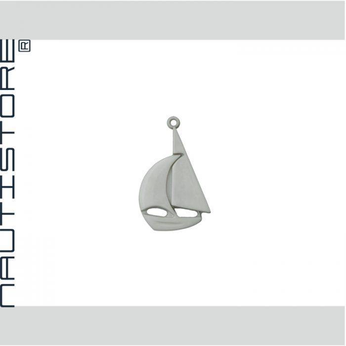 Segelschiff grau