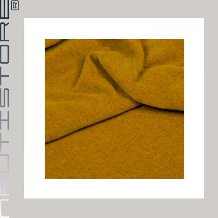 Fleece melange senf 6435-9 shop